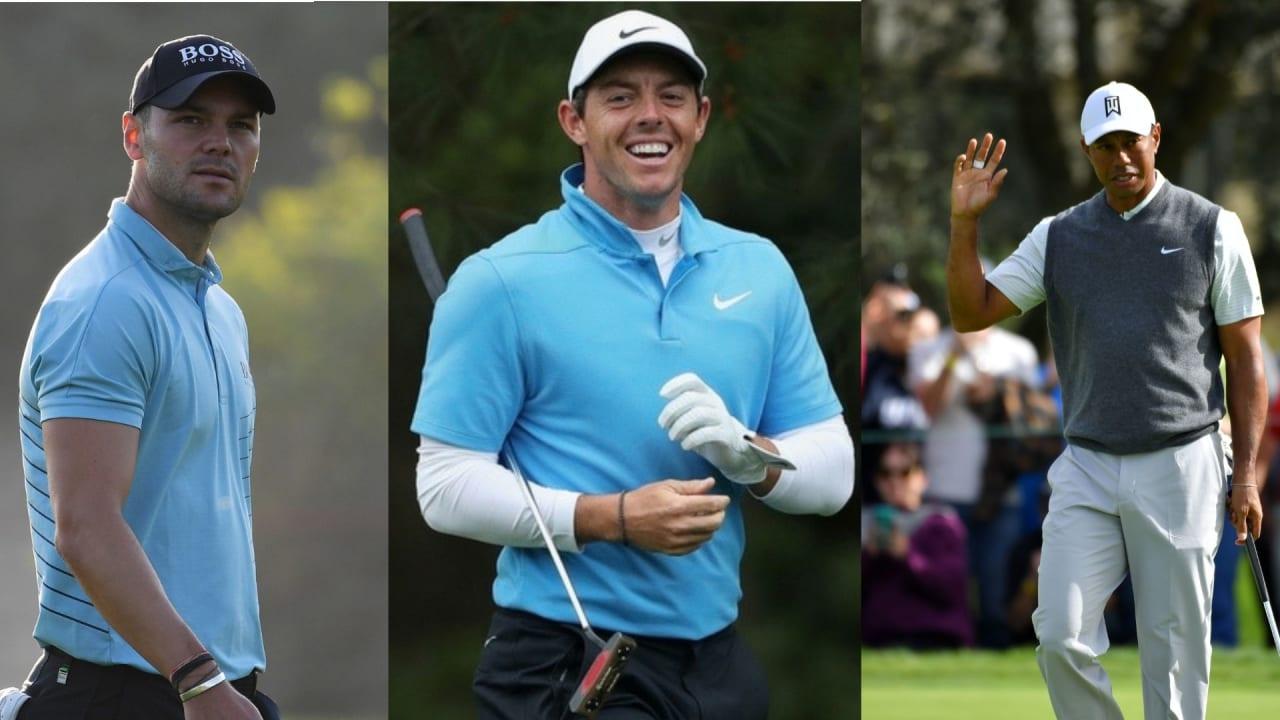 Die Tourpläne für die nächsten Wochen stehen für Martin Kaymer (links), Rory McIlroy (Mitte) und Tiger Woods (rechts) fest. (Foto: Getty)