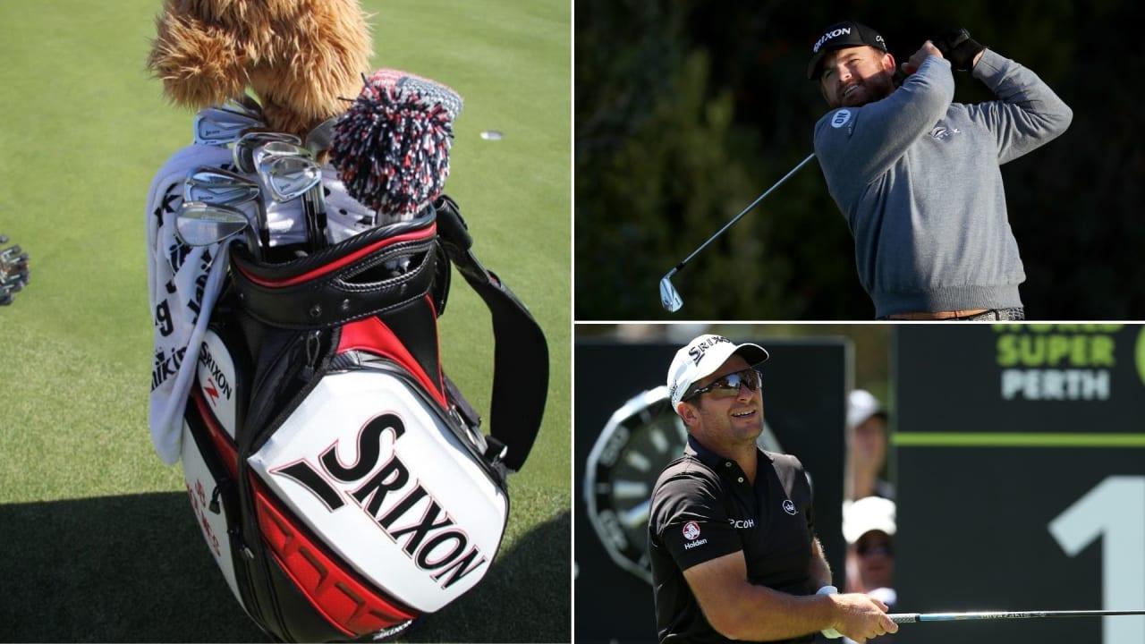 Ryan Fox und J.B. Holmes gehen als Sieger in dieser Woche hervor und vertrauen bei den meisten Schlägern auf Srixon. (Fotos: Getty und Instagram/@golfwrx)