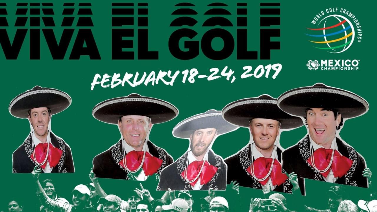 Bei der WGC - Mexico Championship kommen die besten Golfer der Welt zusammen. (Foto: Twitter/@WGCMexico)