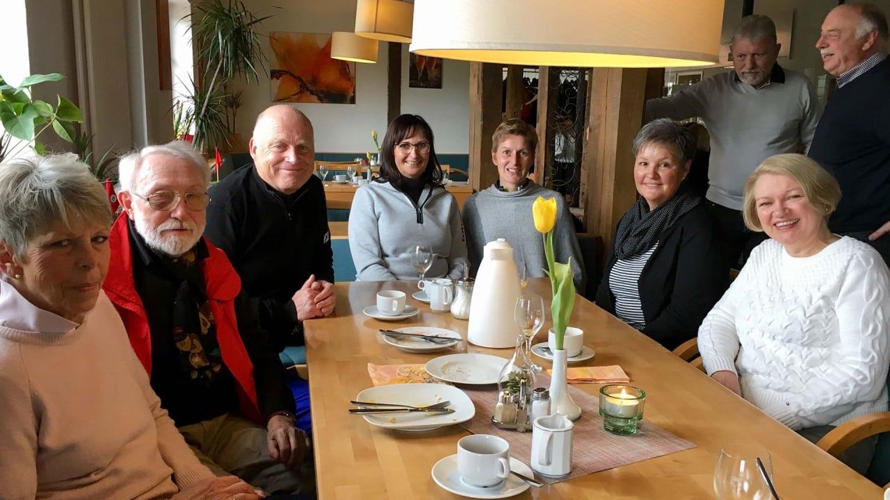 Mmmmh, das war lecker! Helferfrühstück im Golfclub Varus. (Foto: Golfclub Varus)