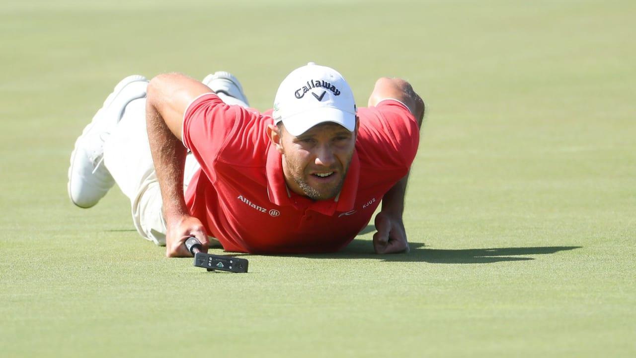 Max Kieffer hat sich bei der Oman Open fast seinen ersten Sieg auf der European Tour gesichert. (Foto: Getty)