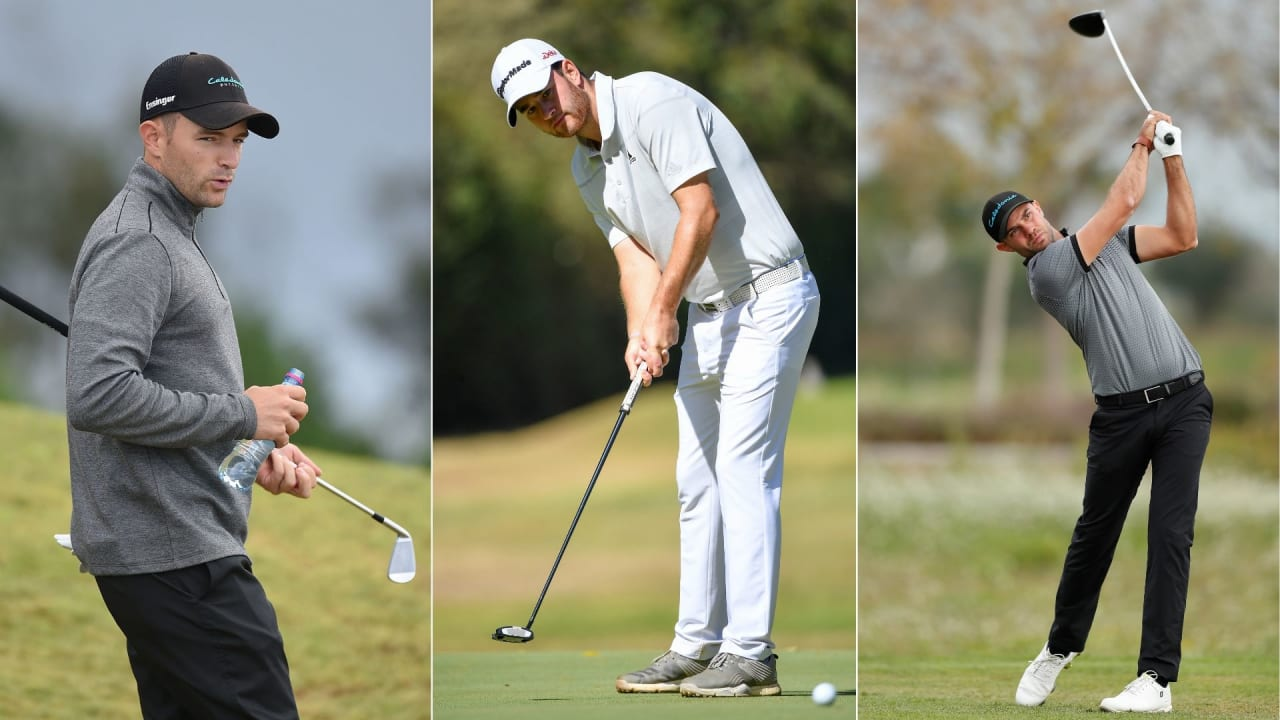 Das deutsche Trio auf der European Tour in Kenia. (Foto: Getty)