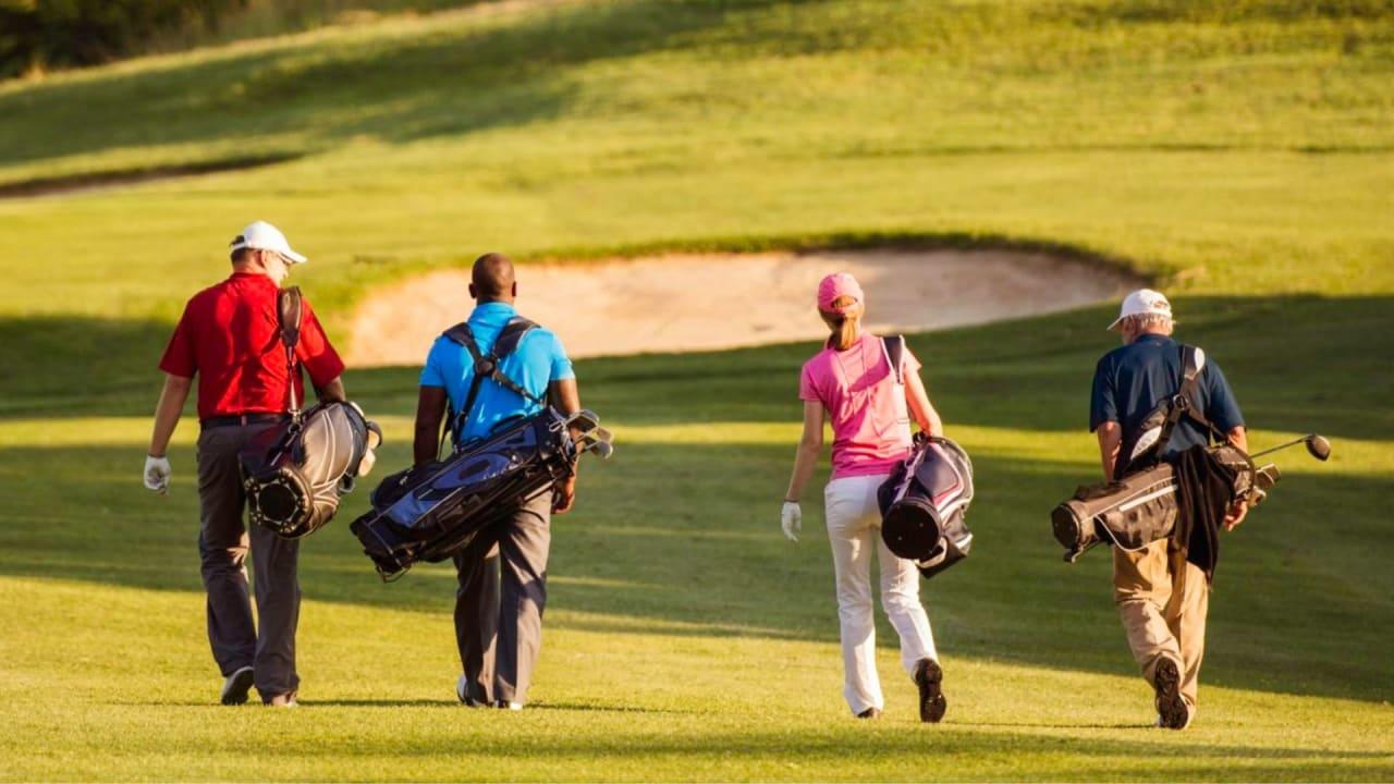 Golf macht gesund. Während der Golf & Health Week wollen die Verantwortlichen das näher bringen. (Foto: Twitter/@thegolfbusiness)