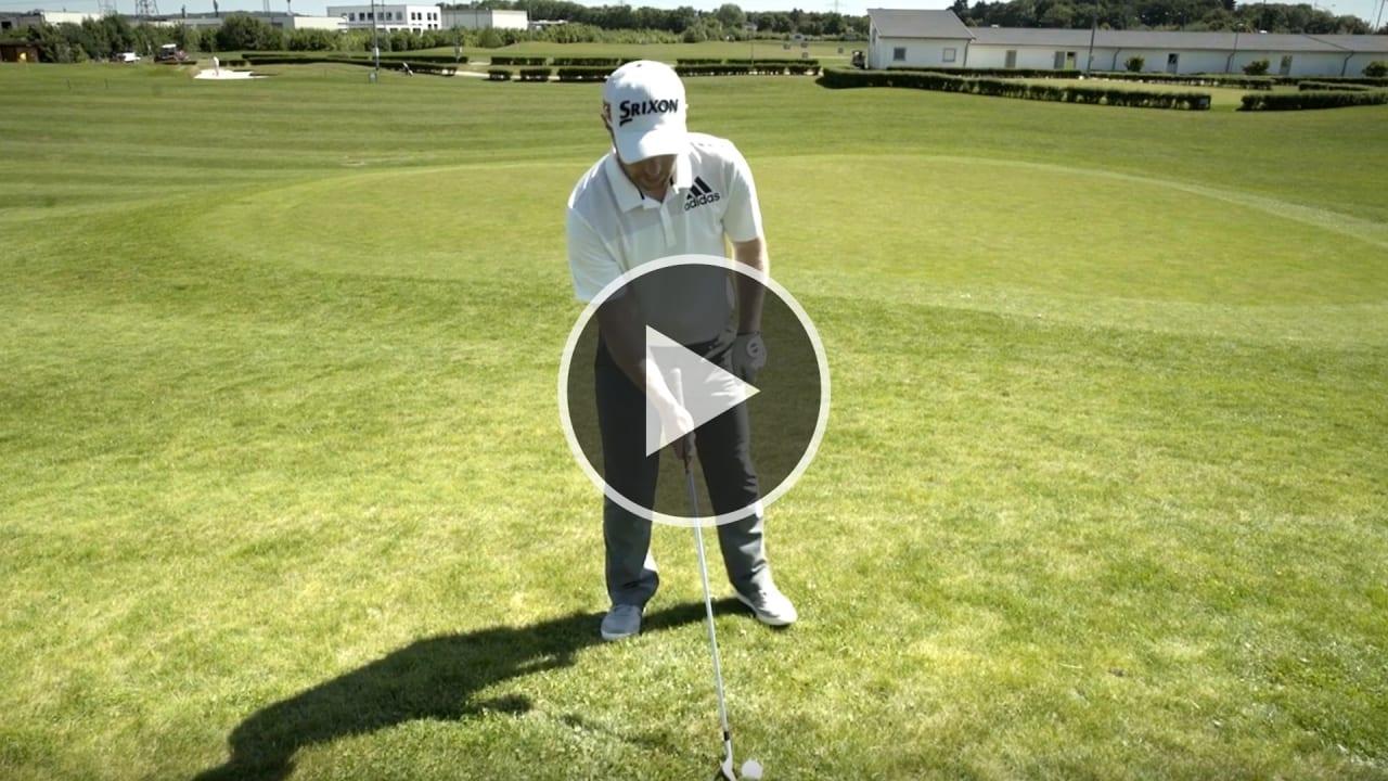 Golftraining mit Fabian Bünker. Heute zum Thema: Berg- und Hanglagen. (Foto: YouTube/Golf Post)