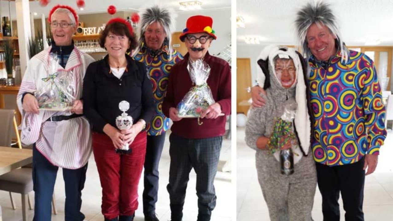 Die Didos hatten zu Karneval mächtig Spaß. (Foto: GC Hatten)