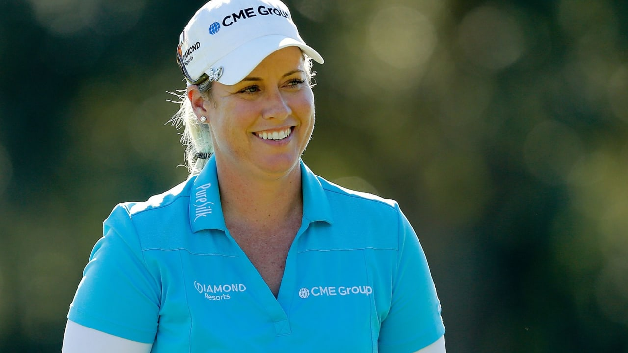 Brittany Lincicome bei der CME Group Tour Championship. (Foto: Getty)