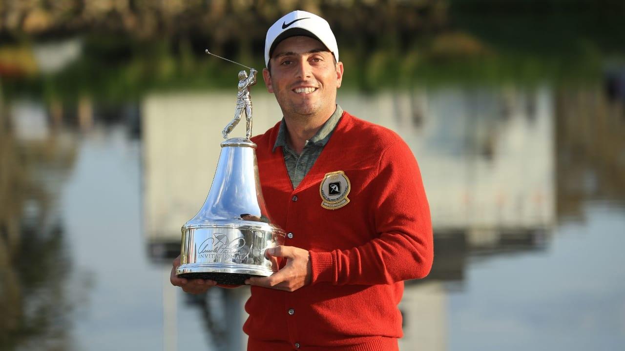 Francesco Molinari nach seinem dritten Triumph auf der PGA Tour. (Foto: Getty)