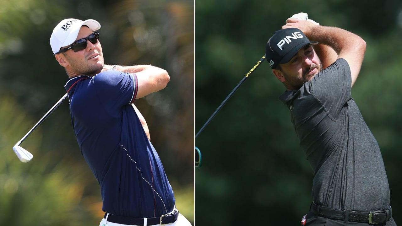 Martin Kaymer und Stephan Jäger bei The Honda Classic 2019 auf der PGA Tour. (Foto: Getty)