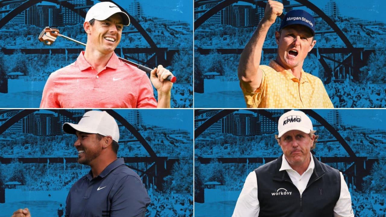 Zahlreiche Stars treten bei der World Golf Championship - Dell Technologies Match Play gegeneinander an. (Foto: Twitter/@DellMatchPlay)