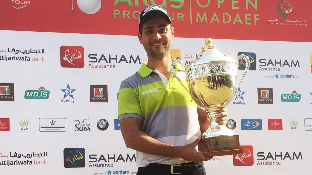 Moritz Lampert siegt auf der Pro Golf Tour. (Foto: Pro Golf Tour)