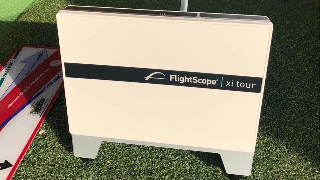 DIe Pros des GC Castrop-Rauxel arbeiten ab sofort mit einem Flightscope. Das Trainingsgerät liefert trainingsspezifische Daten, die wiederum den Trainern den Alltag erleichtern. (Bildquelle: GC Castrop-Rauxel)