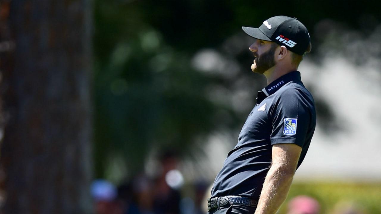 Dustin Johnson in der Finalrunde der RBC Heritage auf der PGA Tour. (Foto: Getty)