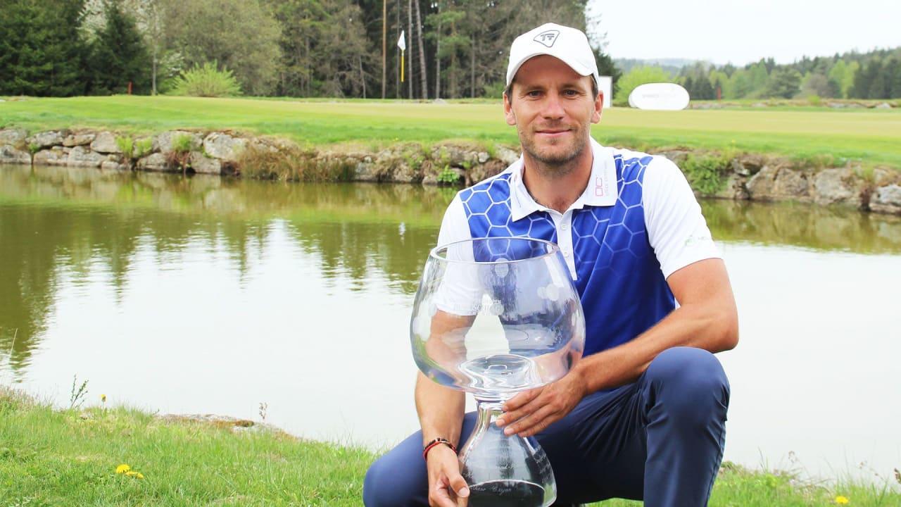 Jan Cafourek gewinnt die Haugschlag NÖ Open 2019. (Foto: Pro Golf Tour)