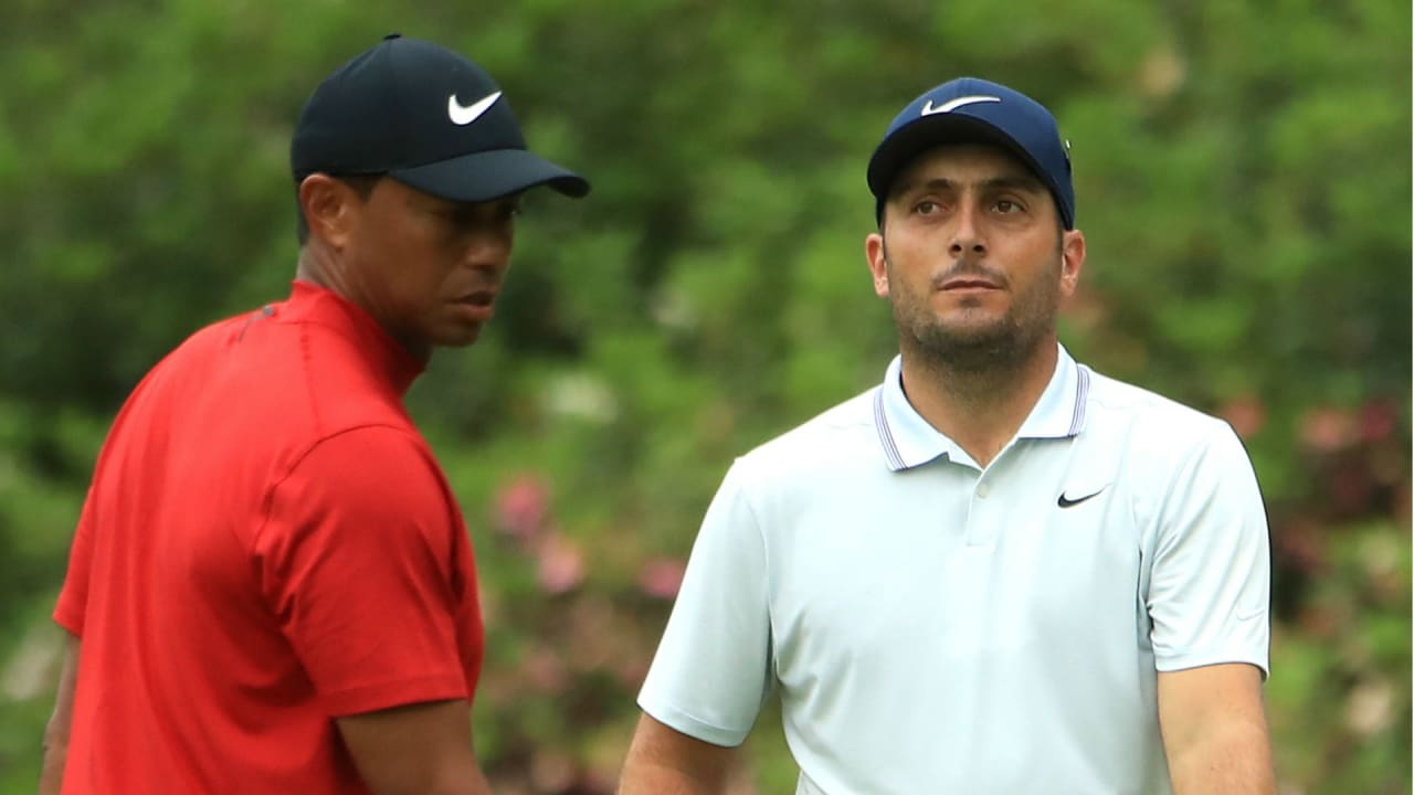 Francesco Molinari und Tiger Woods beim US Masters 2019. (Foto: Getty)
