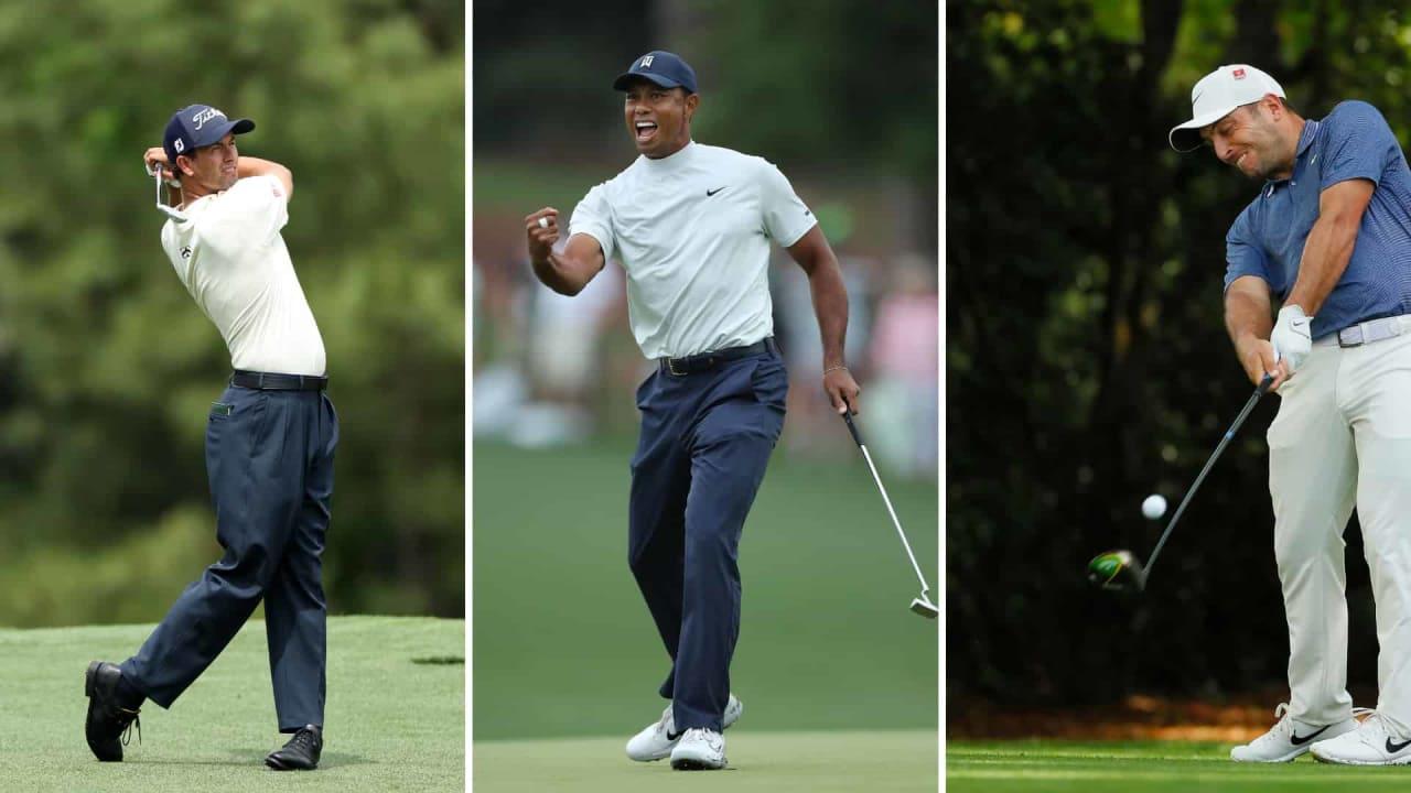 Tiger Woods jagt ein Führungs-Quintett nach dem zweiten Tag des US Masters 2019. (Foto: Getty)