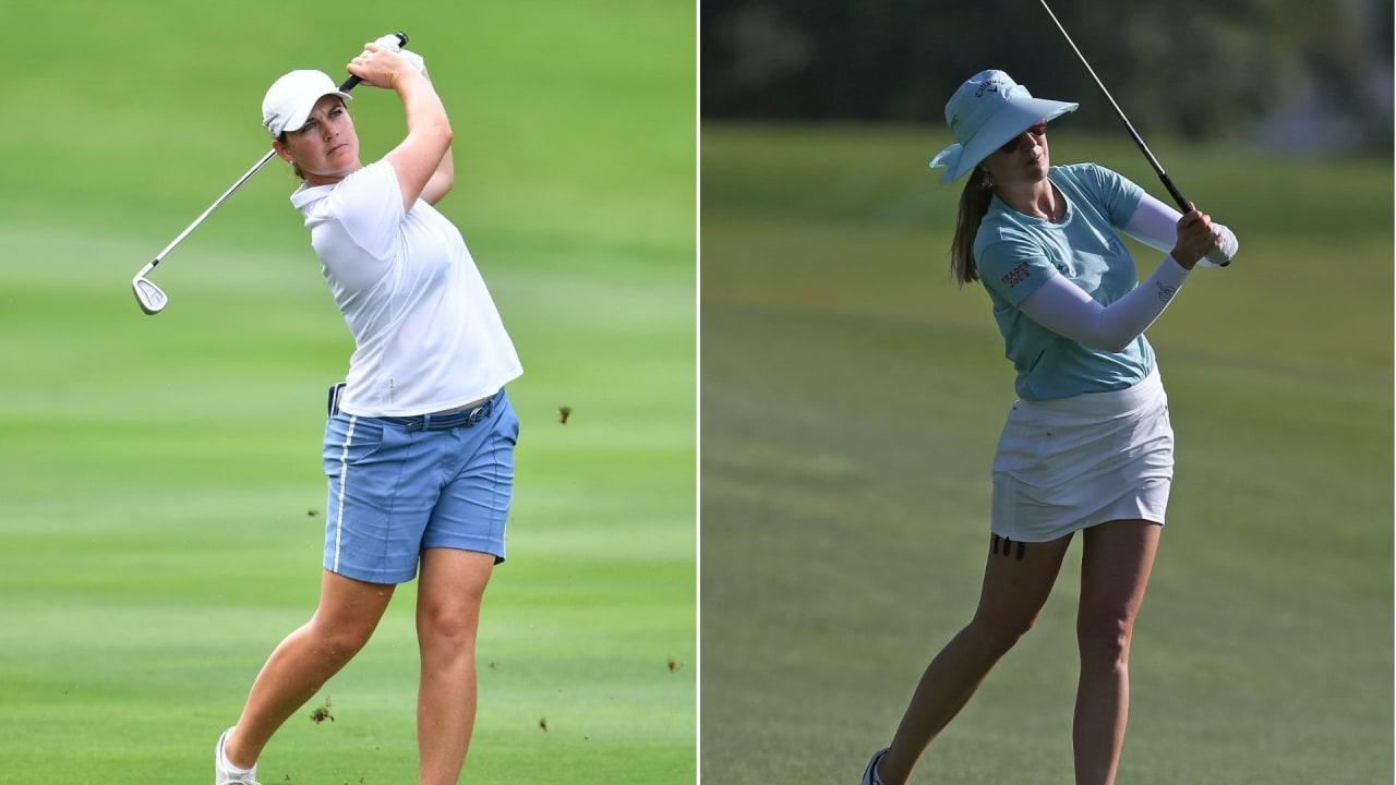 Die beiden deutschen Spielerinnen, Caro Masson und Sandra Gal, sind am Major-Wochenende auf der LPGA Tour mit von der Partie. (Foto: Getty)