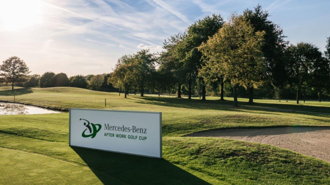 Am 22. April 2019 startet das erste Turnier des Mercedes-Benz After Work Golf Cups. (Foto: Mercedes-Benz AWGC)