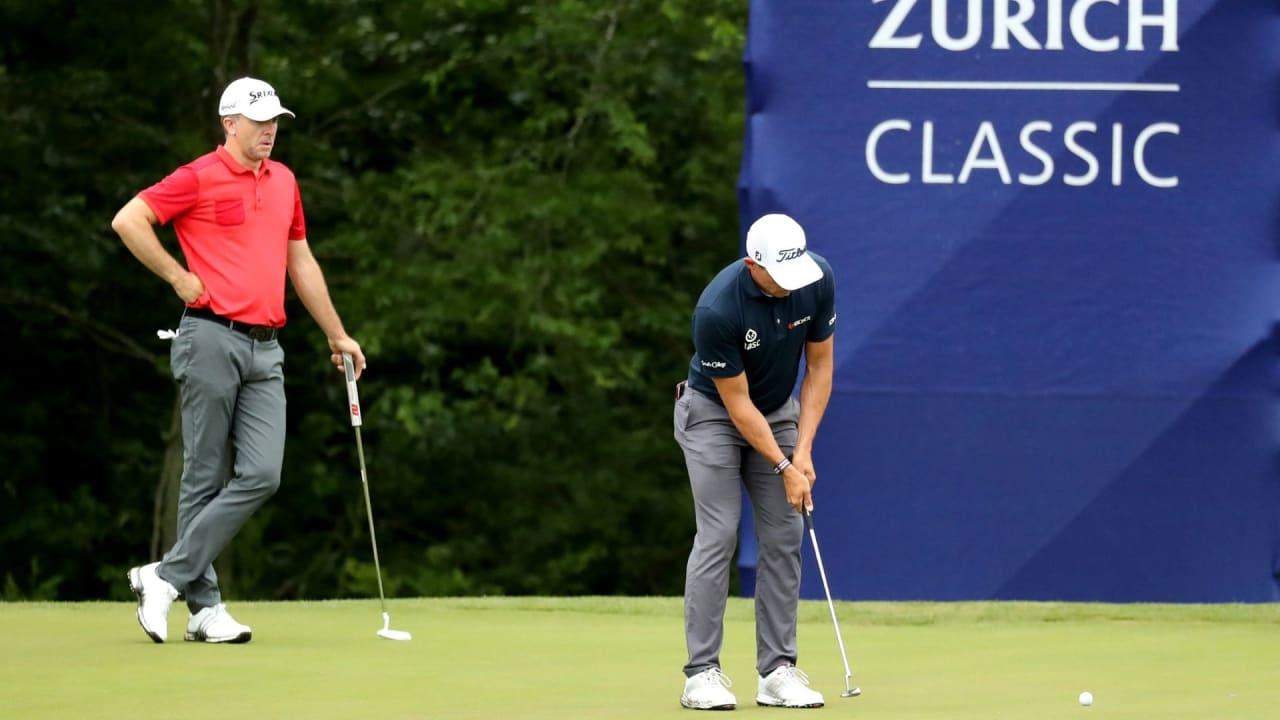 Scott Stallings und Trey Mullinax trotzen dem Wetter und profitieren von einer frühen Startzeit. (Bildquelle: Getty)