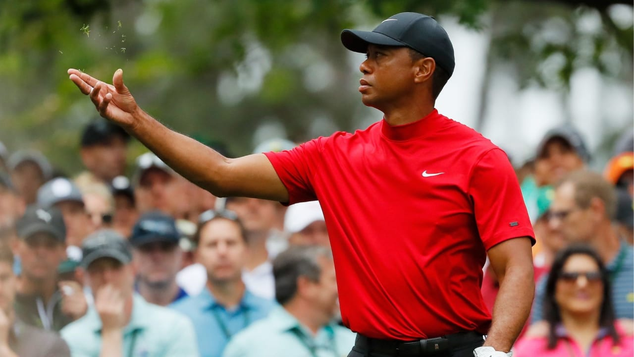 Tiger Woods beim US Masters 2019. (Foto: Getty)