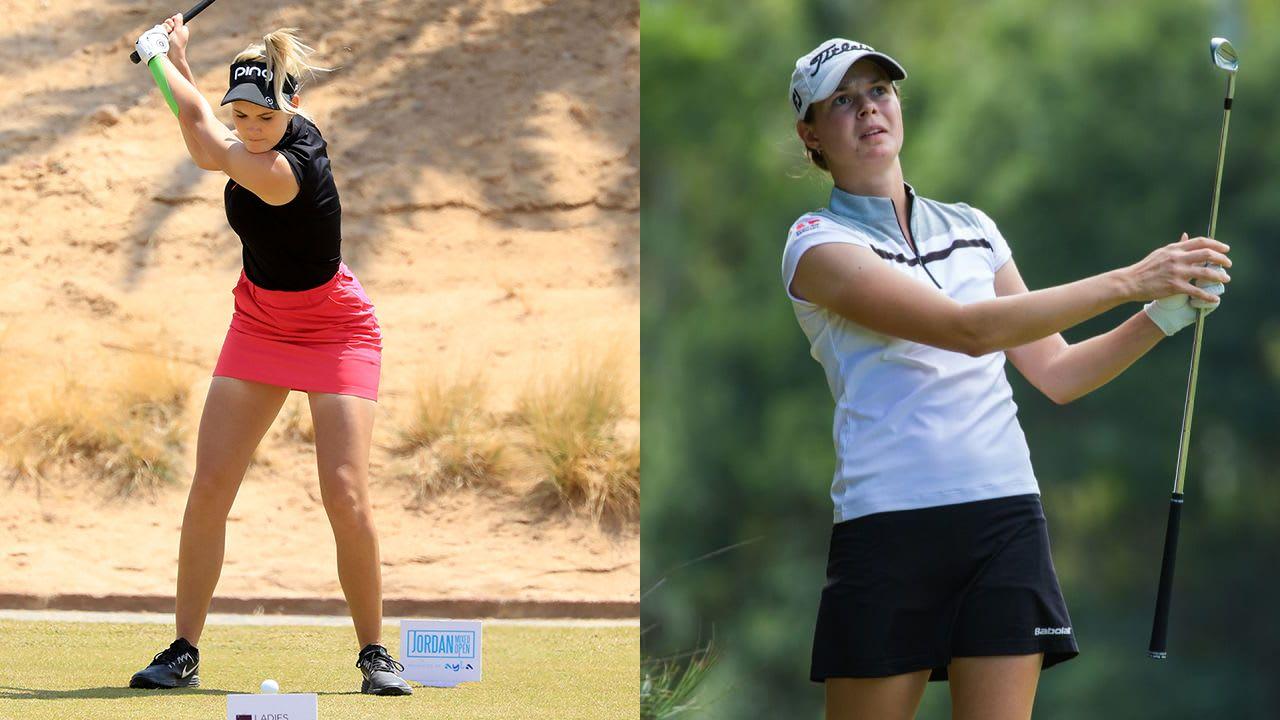 Laura Fünfstück und Esther Henseleit holen Top-Ergebnisse auf der Ladies European Tour. (Foto: Getty)