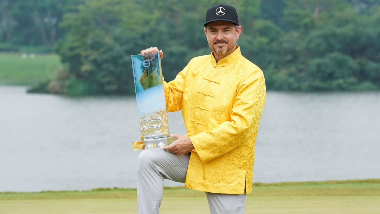 Mikko Korhonen gewinnt die Volvo China Open der European Tour im Playoff. (Foto: Getty)