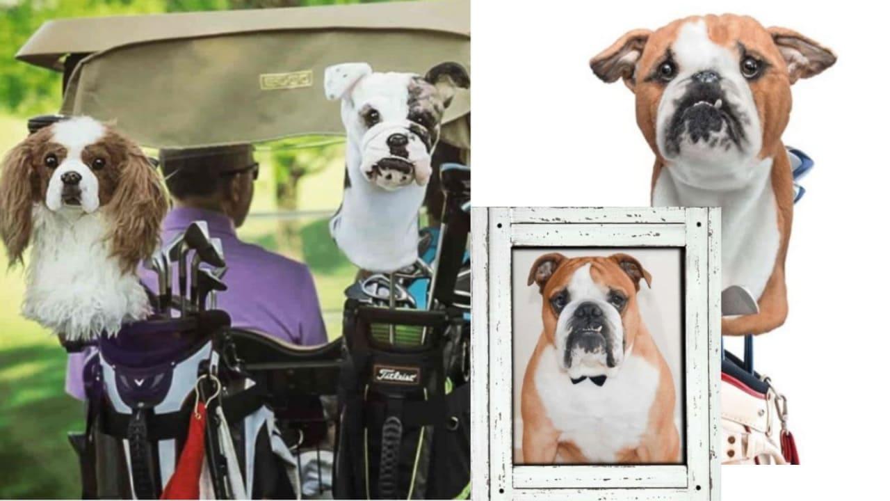 Mit den pelzigen Lieblingen auf den Golfplatz: Schlägerhauben von Cuddle Clones. (Fotos: Screenshots cuddleclones.com)