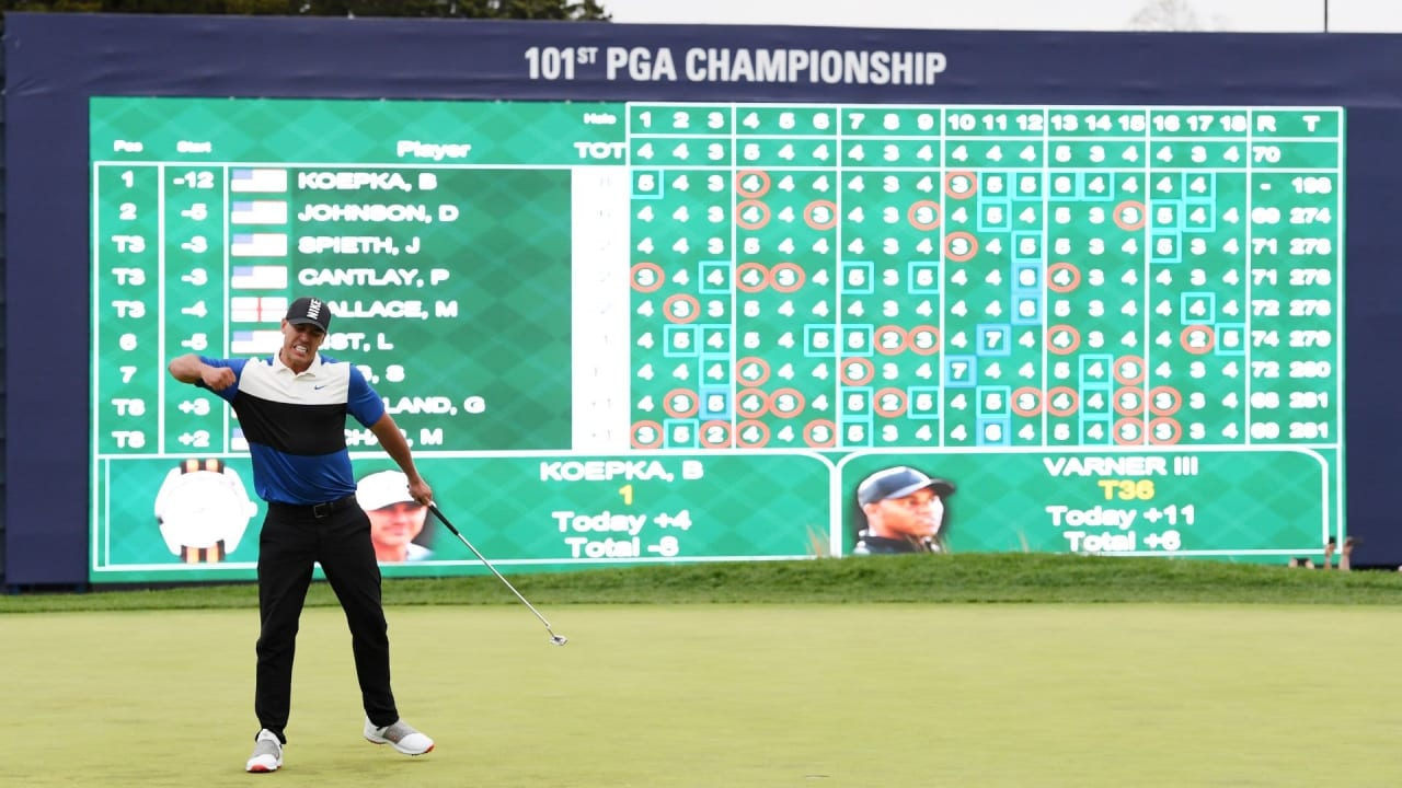 Nach seinem Triumph bei der PGA Championship 2019 übernimmt Brooks Koepka die Spitze der Weltrangliste (Foto: Getty)
