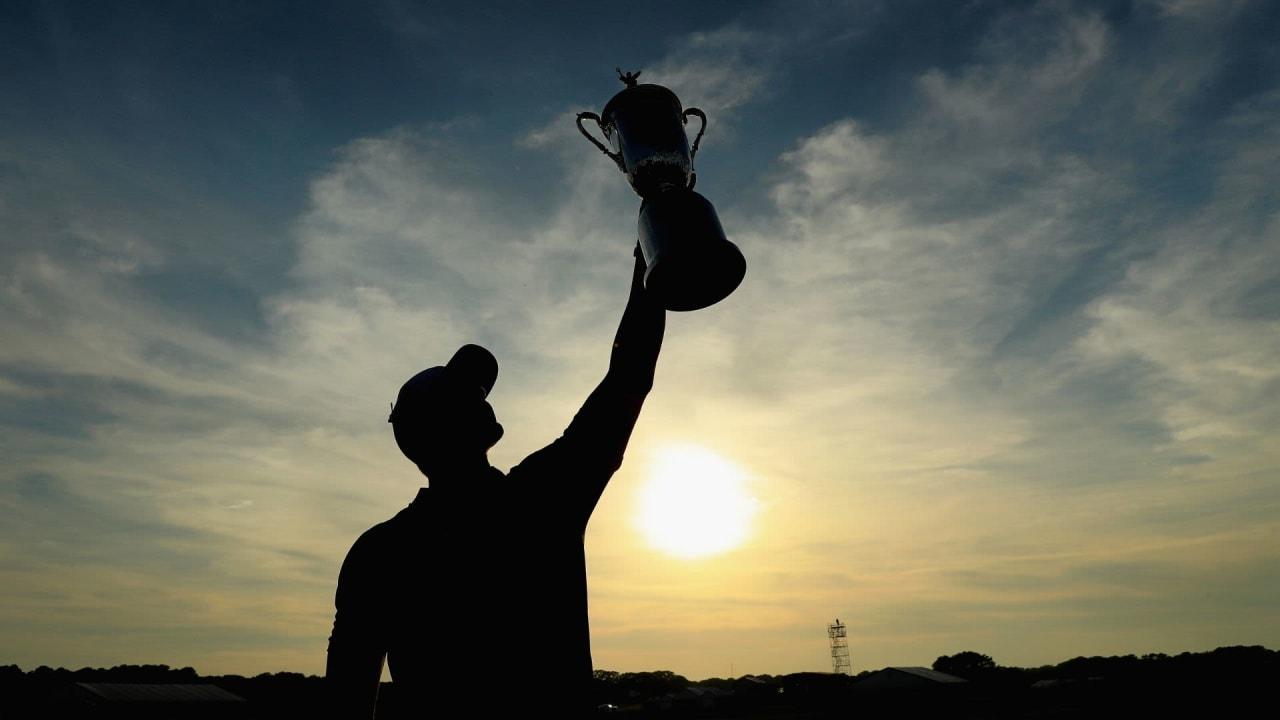 Brooks Koepka war der glückliche Sieger der letzten US Open. In diesem Jahr dürfen sich die Spieler auf ein sattes Preisgeld freuen. (Foto: Getty)