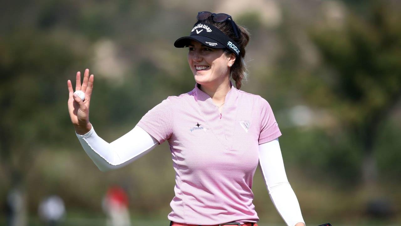Sandra Gal liegt drei Schläge hinter der Spitze der ShopRite LPGA Classic der LPGA Tour. (Foto: Getty)