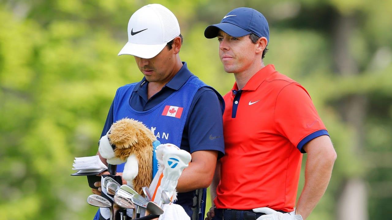 Das richtige Equipment immer dabei - McIlroy lag in Kanada mit seinen Schlägern goldrichtig.(Foto: Getty)