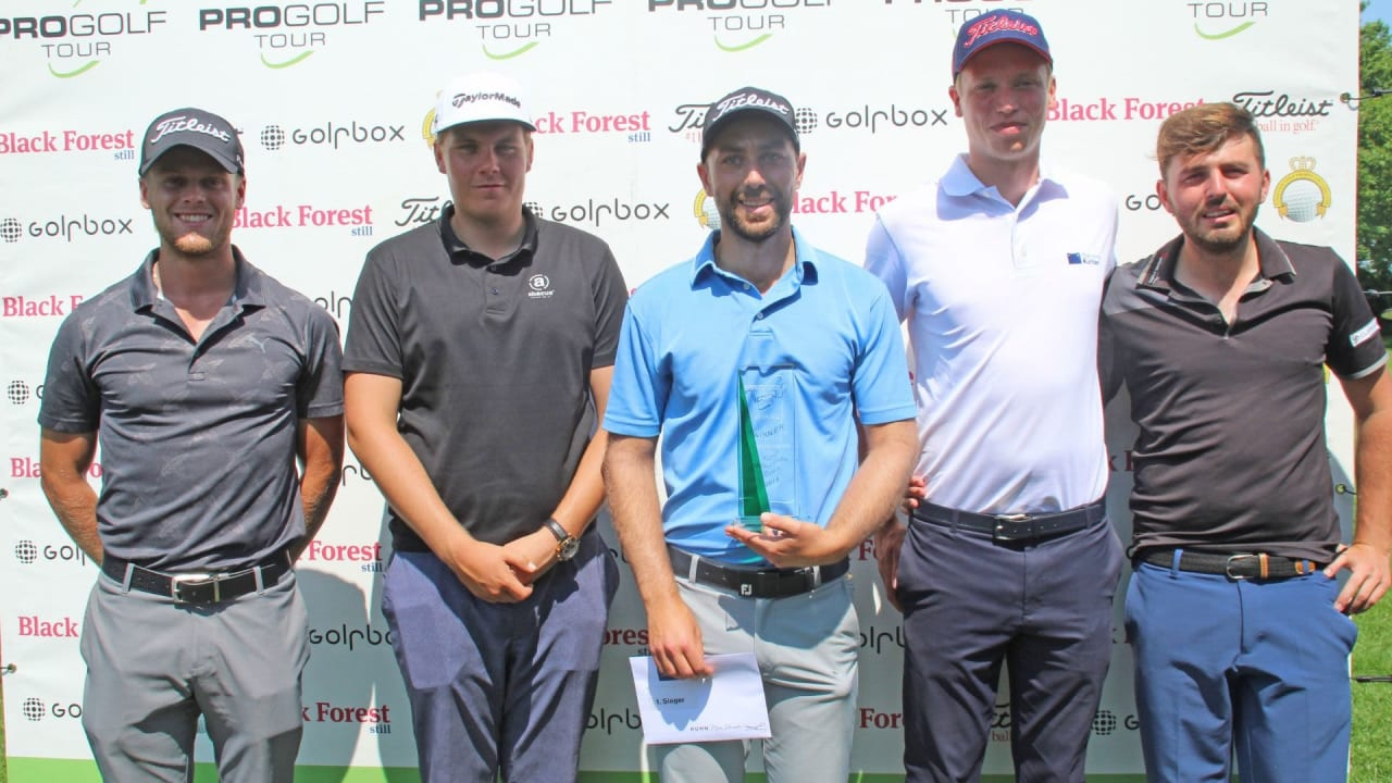 Hurly Long und Christopher Carstensen auf der Pro Golf Tour. (Bildquelle: Pro Golf Tour)