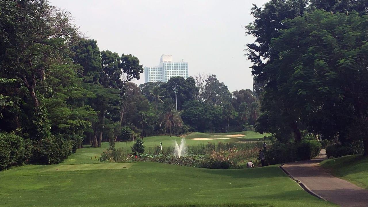 Der Senayan National Golf Club im Herzen der indonesischen Hauptstadt Jakarta. (Foto: Golf Post)