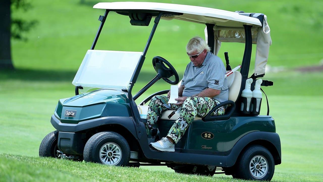 Ob er will oder nicht - bei der British Open wird Ex-Sieger John Daly zu Fuß gehen müssen. (Foto: Getty)