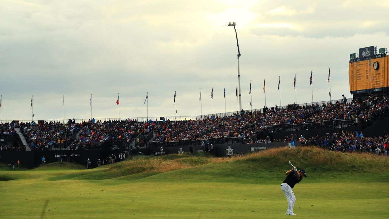 Shane Lowry mit einer Fabelrunde am Moving Day der British Open. (Foto: Getty)