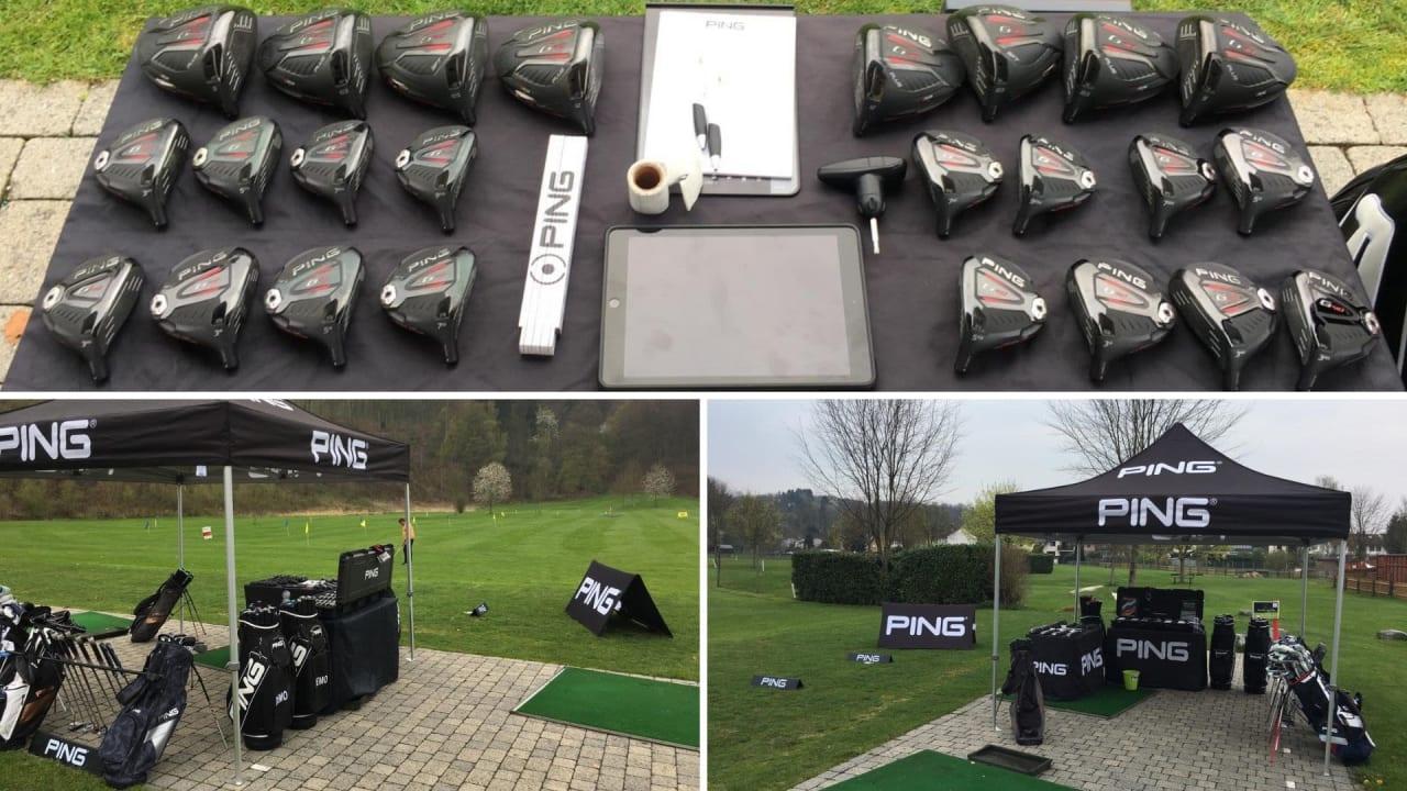 Das neue Ping-Equipment im Golf Post Erfahrungsbericht. (Bildquelle: Golf Post Userin)