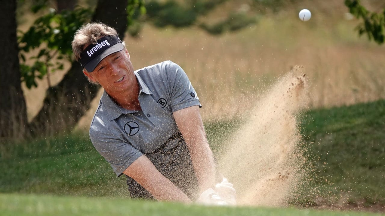 Bernhard Langer bei der Winstongolf Senior Open 2019. (Foto: Getty)