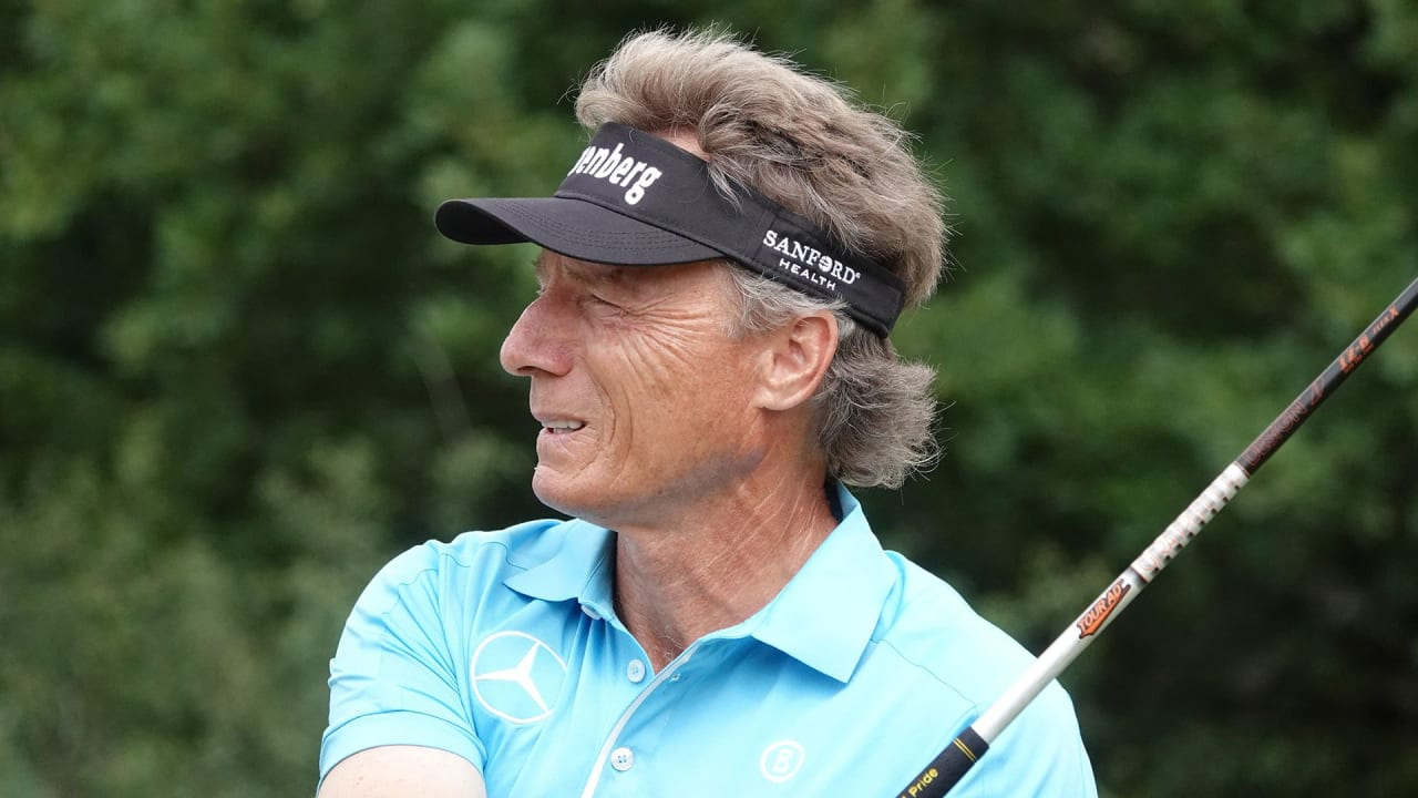 Bernhard Langer wird bei der Winstongolf Senior Open Vierter. (Foto: Getty)