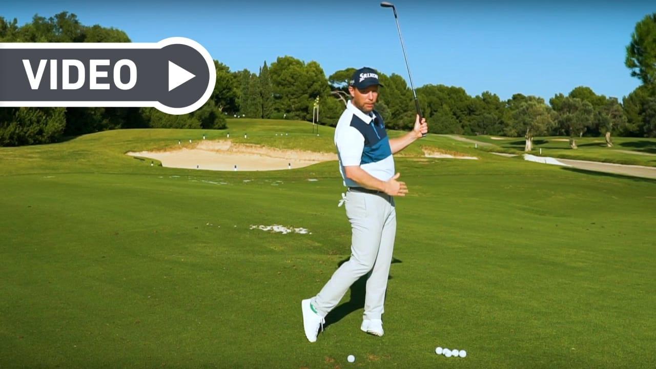 Fabian Bünker erklärt, wie Sie die wichtigsten Fehler beim Pitchen vermeiden. (Foto: Youtube.com/Golf in Leicht)