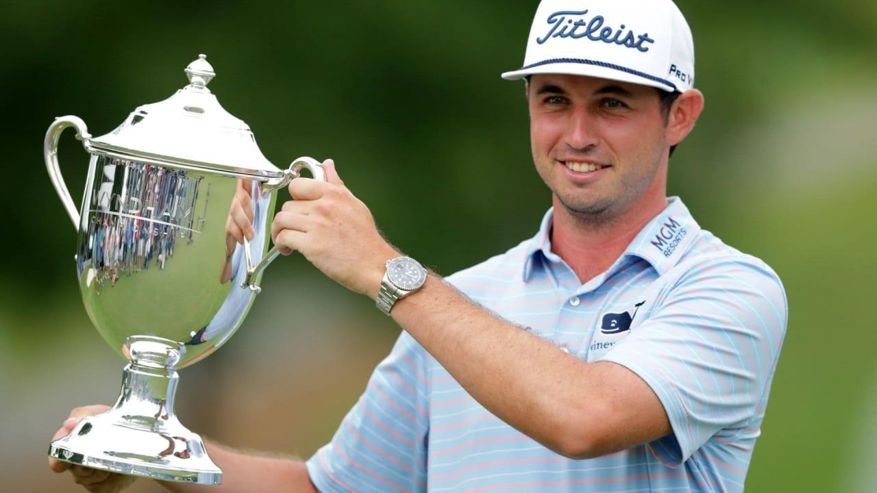 J.T. Poston gewinnt die Wyndham Championship 2019 auf der PGA Tour. (Foto: Getty)