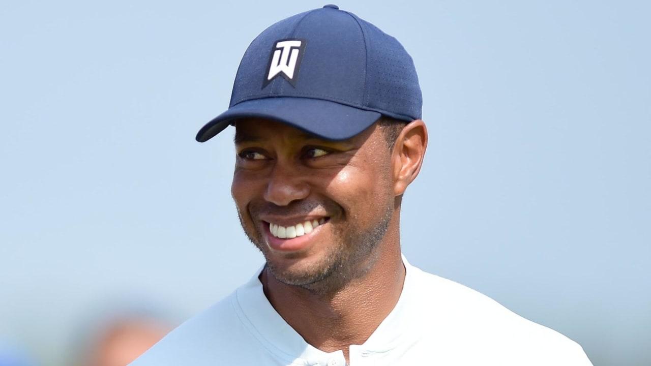 Tiger Woods gibt sich vor der BMW Championship positiv. Wie es wirklich um seine körperliche Verfassung steht, ist weiterhin unklar. (Foto: Getty)