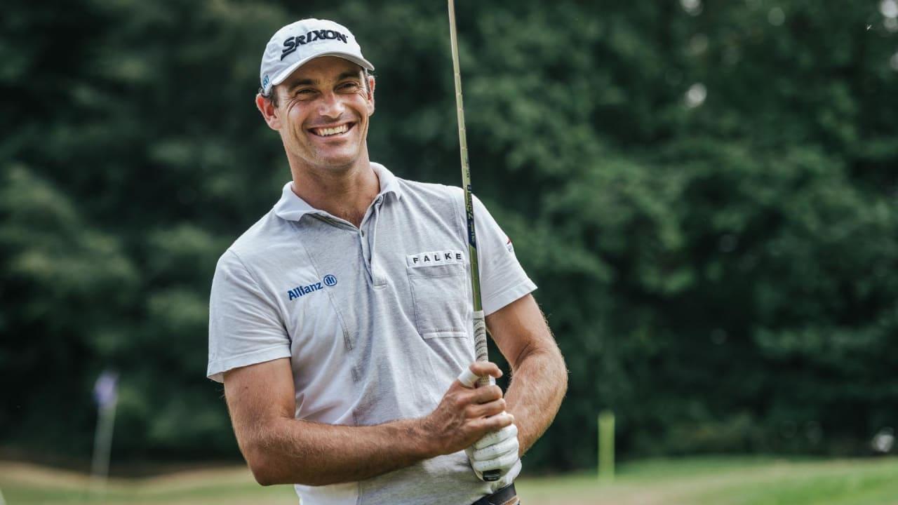 Florian Fritsch im exklusiven Interview mit Golf Post. (Foto: Allianz / Tobias Kuberski)