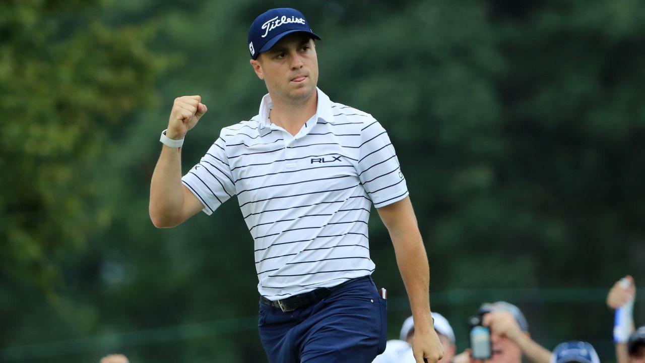 Justin Thomas ist wieder einer der besten fünf Golfern der Welt. (Foto: Getty)