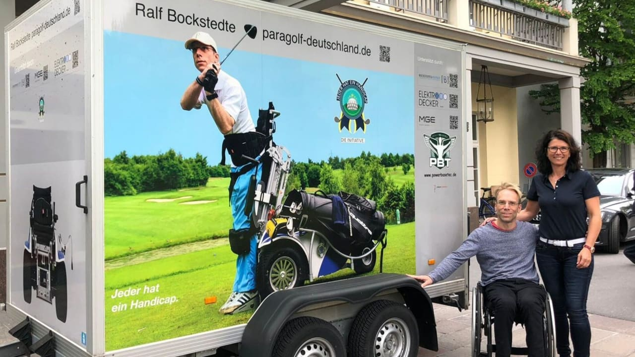 Ralf Bockstedte - Chairman für Inklusion im Golfsport (Foto: Jeder hat ein Handicap. Die Initiative)