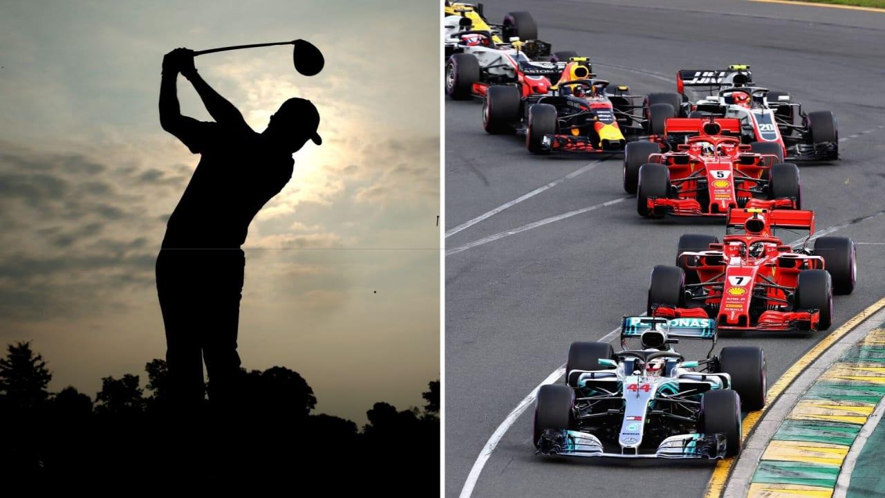 Golf und die Formel 1 - was die Sportarten verbindet und was Golf von dem Rennsport lernen kann. (Foto: Getty)