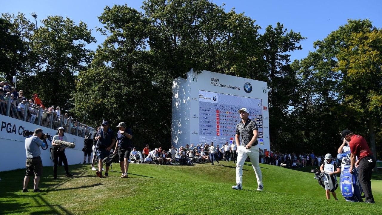 Bei der BMW PGA Championship geht Matt Wallace nach der ersten Runde in Führung. (Foto: Getty)
