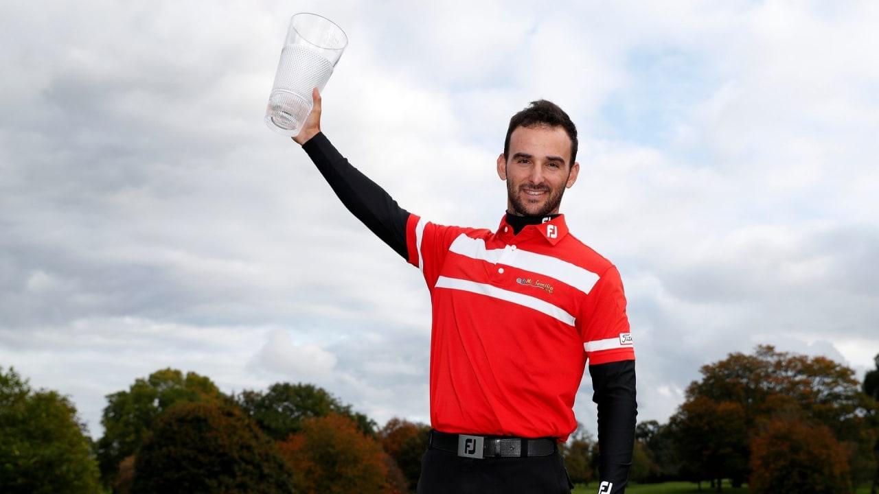 Emilio Cuartero Blanco gewinnt die Irish Challenge 2019 der Challenge Tour. (Foto: Getty)