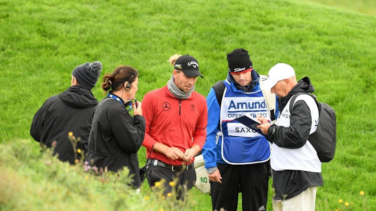 Marcel Siem disqualifiziert sich selbst nach Strafe auf der European Tour. (Foto: Getty)