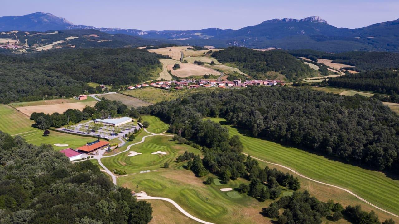 Der Bau des Golfplatzes im Naturpark Izki wurde vom Provinzrat in Auftrag gegeben. (Foto: Izki Golf)