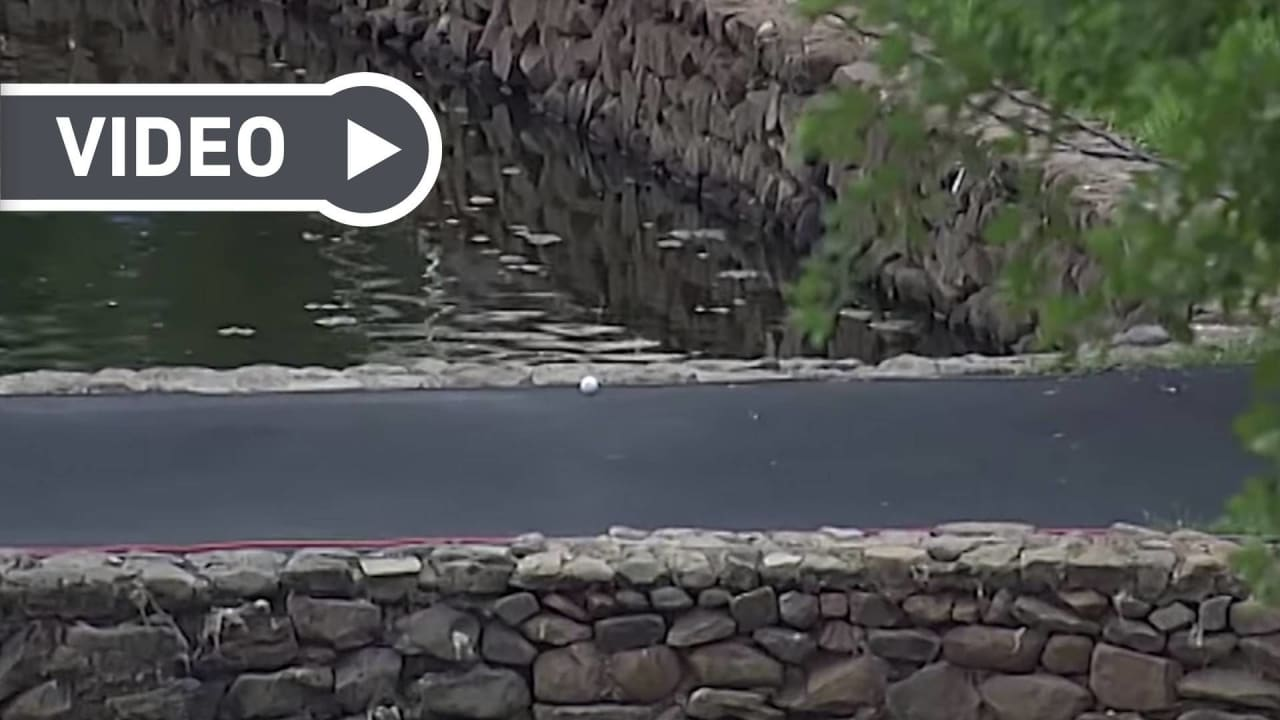Das Glück des Tüchtigen - oder einfach nur Glück. Die glücklichsten Schläge im Video. (Foto: Getty)