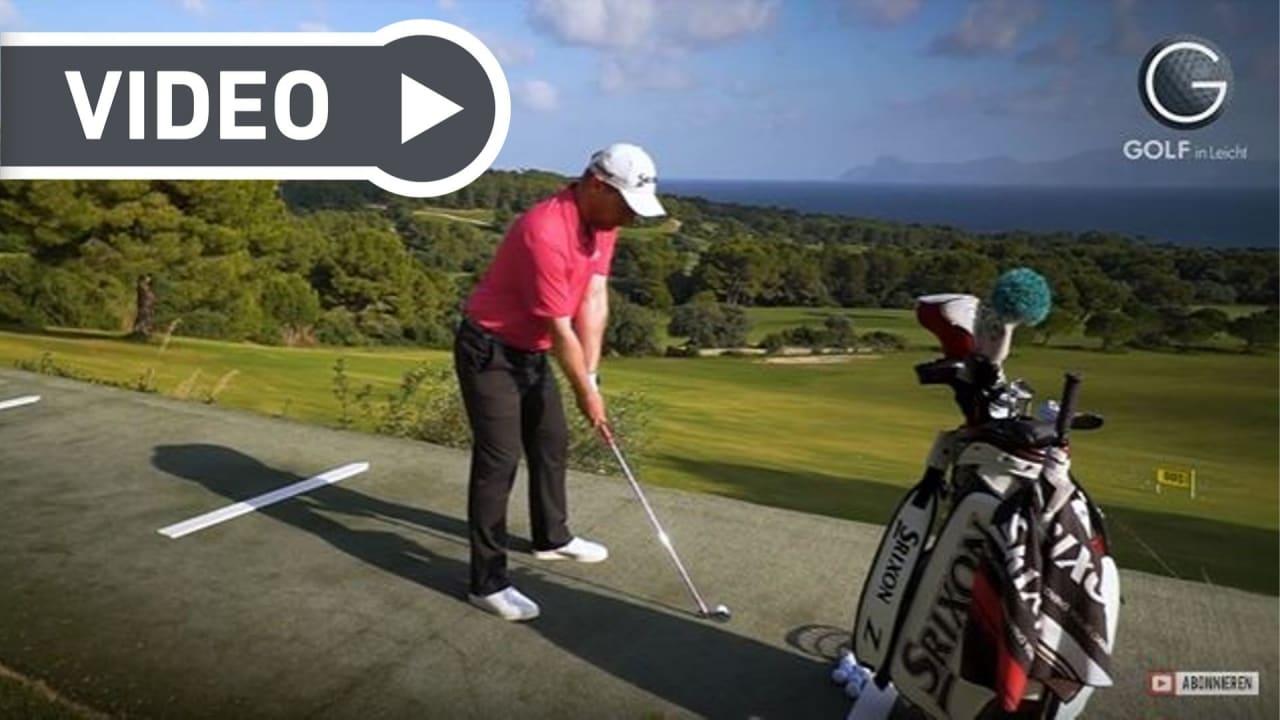 Fabian Bünker von Golf in Leicht gibt Tipps und Tricks rundum das Golfspiel. In dieser Episode zeigt er die drei häufigsten Fehler im Schwung auf. (Foto: YouTube / Golf in Leicht)